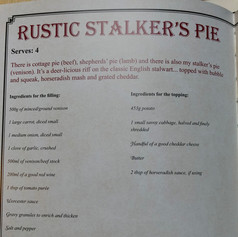 Venison Mince- Rustic Venison Stalker's Pie, Scott Rea