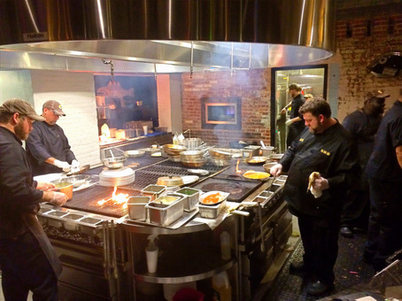 ulele restaurant open kitchen