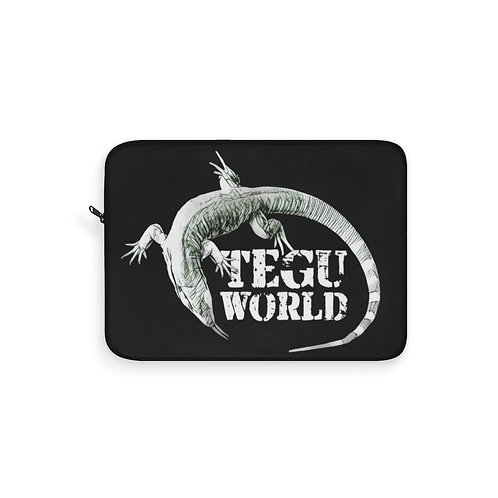 Tegu World Laptop Sleeve, Blue Tegu, Purple Tegu, Tegu World, Laptop Protector