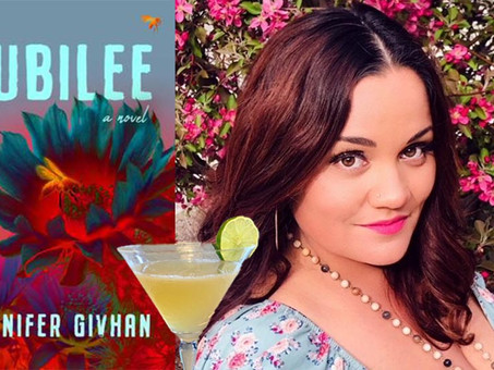 The Mexicali Jubilee--A Custom Cocktail for Jennifer Givhan's Booktails Literary Podcast EP6