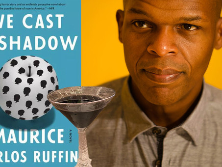 The Black Shadow--A Custom Cocktail for Maurice Carlos Ruffin's Booktails Literary Podcast EP7
