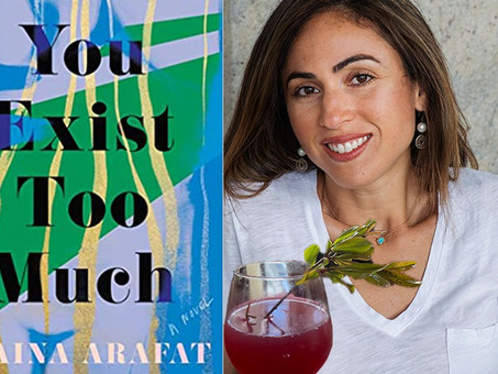 On the Ledge--A Custom Cocktail for Zaina Arafat's Booktails Literary Podcast EP11