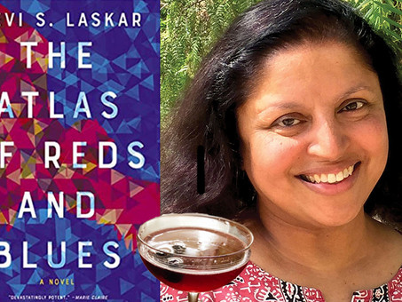 The Red Doll Blues--A Custom Cocktail for Devi S. Laskar's Booktails Literary Podcast EP3