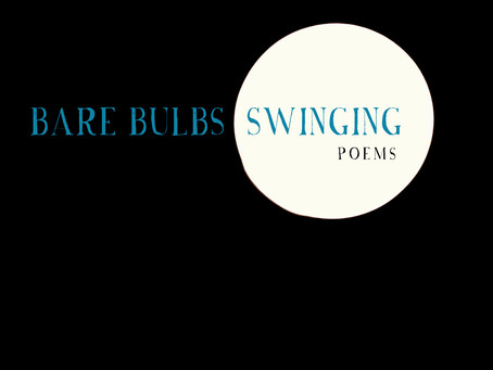 Pre-order opens in November: Bare Bulbs Swinging, poems by Heather Fowler, Meg Tuite, and Michelle R