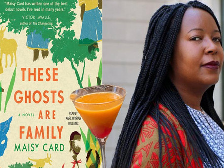 Under the Mango Tree--A Custom Cocktail for Maisy Card's Booktails Literary Podcast EP12
