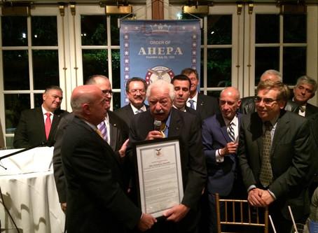 AHEPA Gala Honors Judge Nicholas Tsoucalas' Lifetime Achievements