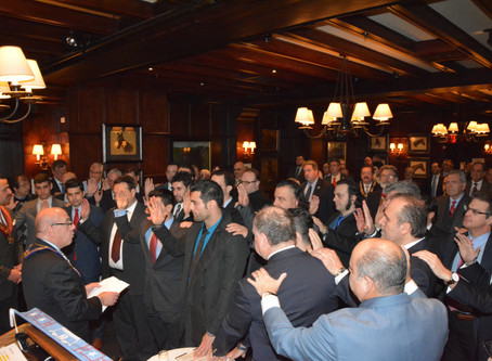 AHEPA Delphi Chapter Initiates 35 New Members