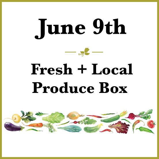 June 9th Pick Up - Fresh Produce Box