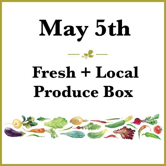 May 5th Pick Up - Fresh Produce Box