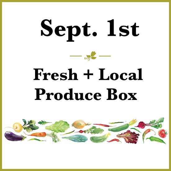 September 1st Pick Up - Fresh Produce Box