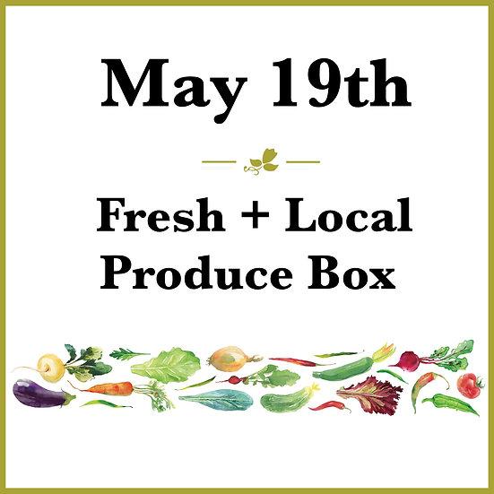 May 19th Pick Up - Fresh Produce Box