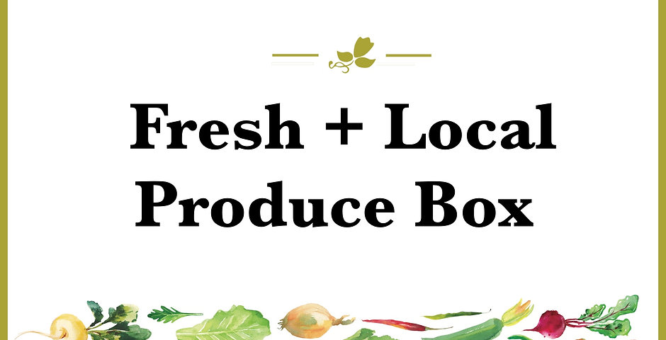 Full Season Pick Up - Fresh Produce Box
