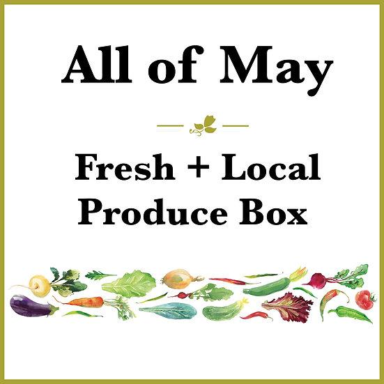 All of May Pick Up - Fresh Produce Box