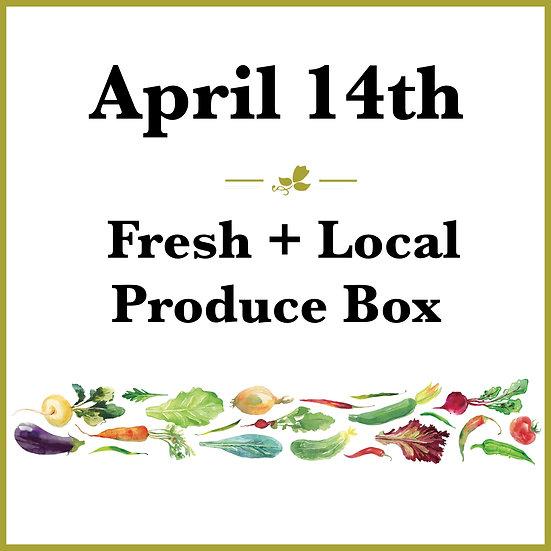 April 14th Pick Up - Fresh Produce Box