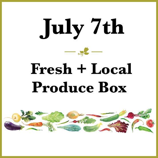 July 7th Pick Up - Fresh Produce Box