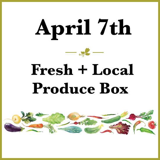 April 7th Pick Up - Fresh Produce Box