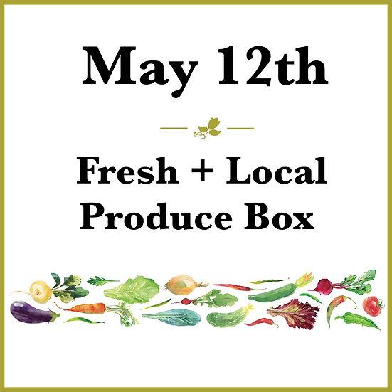 May 12th Pick Up - Fresh Produce Box