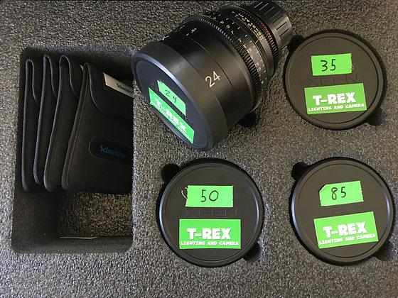 Rokinon Xeen 16mm, 24mm, 35mm, 50mm, & 85mm T1.5 Lenses For PL Mount