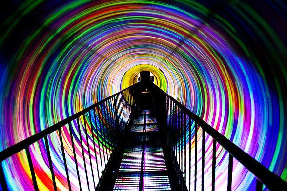 вихревой тоннель вортекс