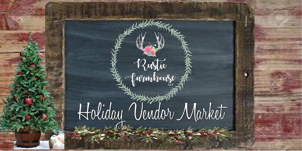 Holiday Vendor Market- Pre-Sale Saturday -$3