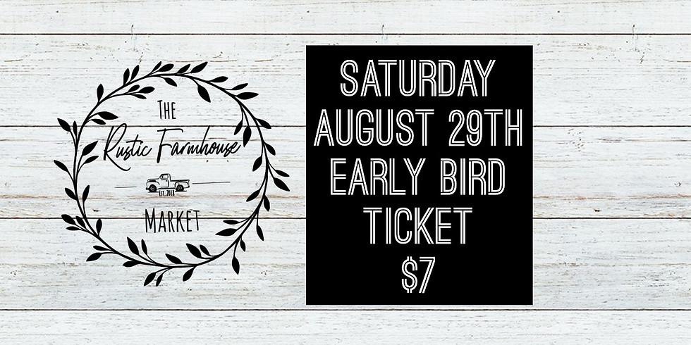 Early Bird Saturday Ticket