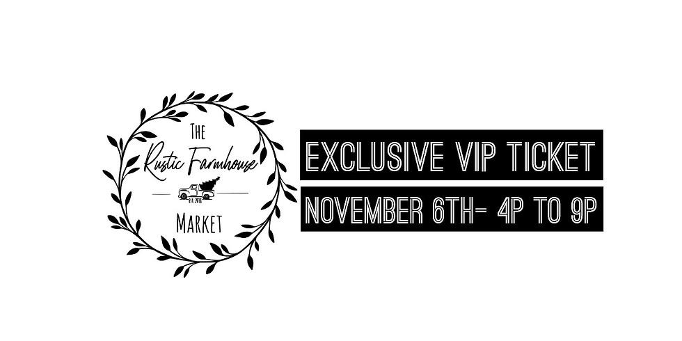 Holiday Market Exclusive VIP Ticket