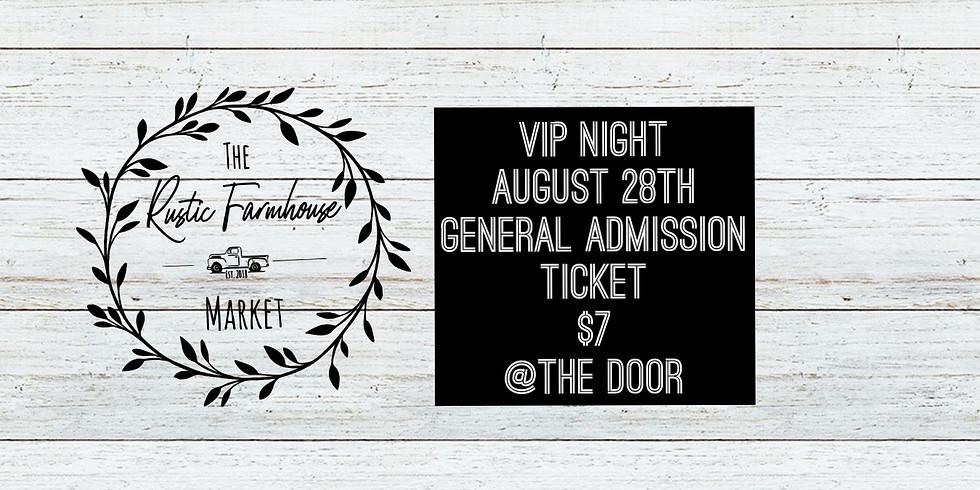 VIP Night General Admission