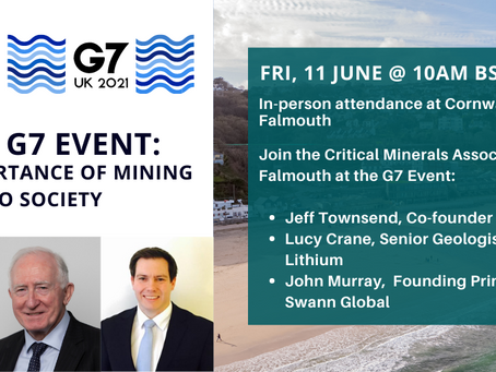 G7 Event - Importance of Mining to Society