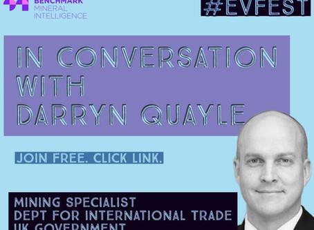UK Government Department of International Trade (DIT) - Darryn Quayle @Benchmark