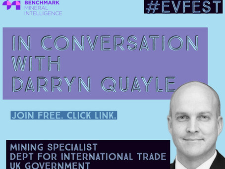 UK Government Department of International Trade (DIT) - Darryn Quayle @Benchmark