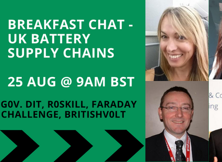 Podcast: UK Battery Supply Chains (with UK Government)