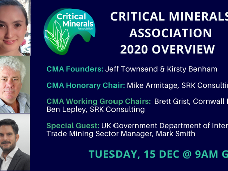 Critical Minerals Association - Overview of 2020