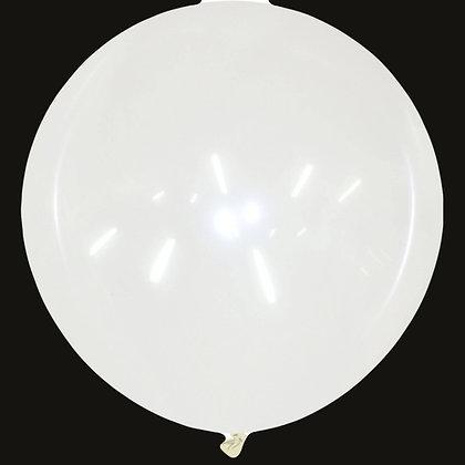 40inch Round Cattex Balloon - Clear