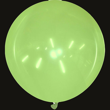 40inch Round Cattex Balloon - Crystal Green