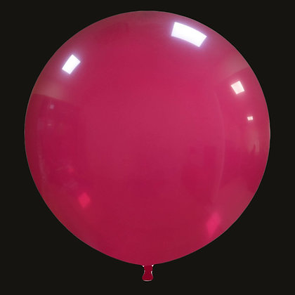 32inch Cattex Balloon - Burgundy