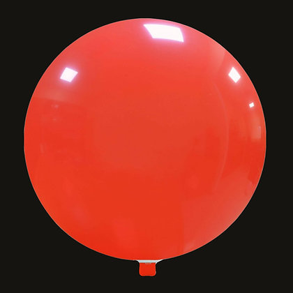 55inch Cattex Balloon - Light Red