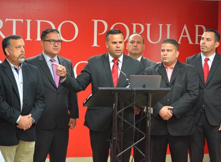 PPD ofrecerá asistencia legal a todos los funcionarios que denuncienactos de corrupción de la Admin
