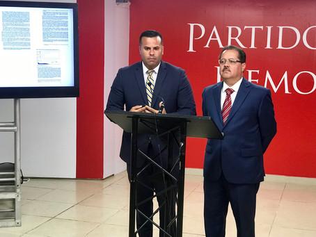 Portavoces del PPD señalan que el Plan Fiscal de Rosselló está plagado de mentiras y sobreestimado d