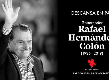 Convocatoria al pueblo popular para recibir y despedir a nuestro siempre presidente Honorable Rafael