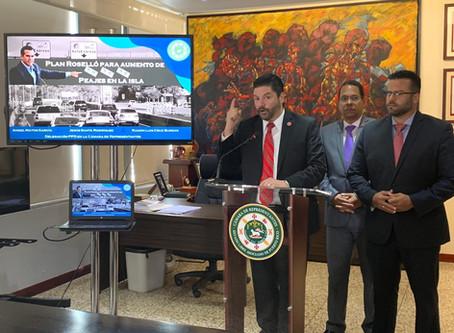 Representantes Populares denuncian aumento de peaje en ruta de Caguas a San Juan