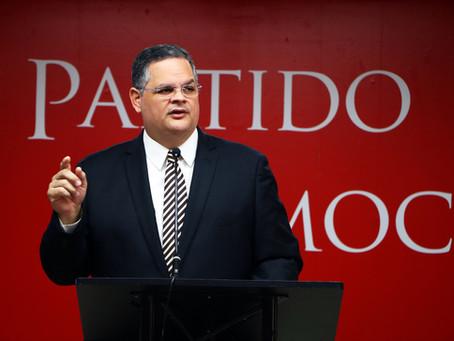 Expresiones autorizadas del presidente del PPD ante el mensaje ofrecido por el gobernador Ricardo Ro