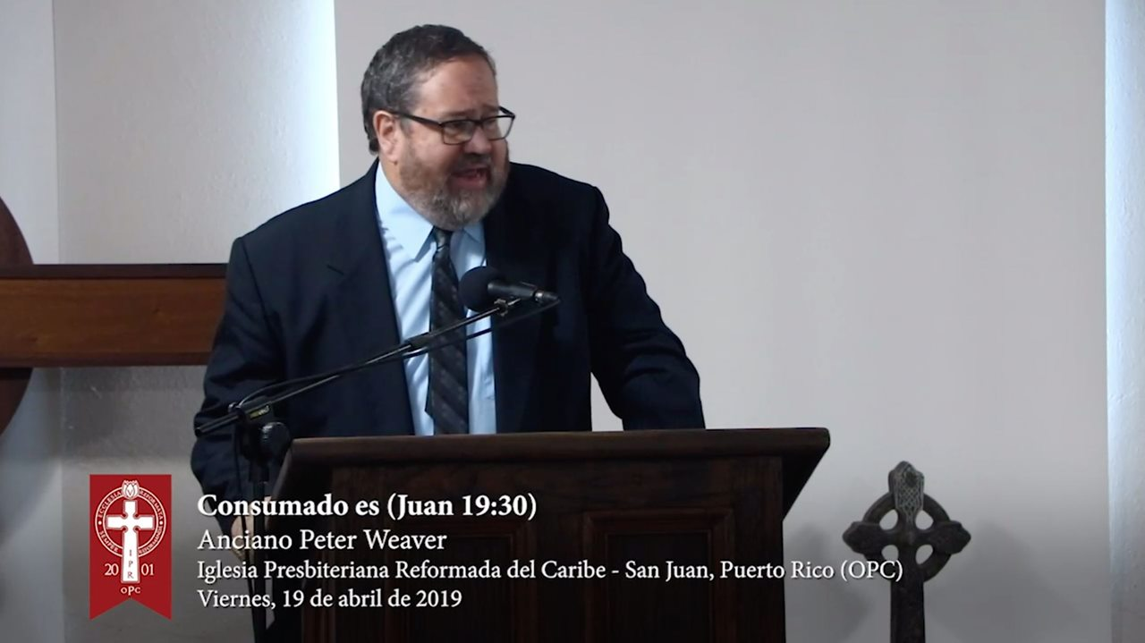 Sexta Palabra - Viernes Santo 2019: Consumado es