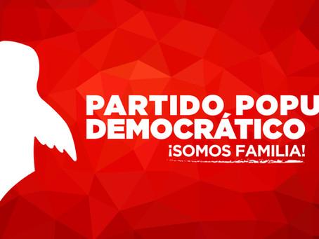 CONVOCATORIA: Apertura de candidaturas para aspirantes a presidente del Comité Municipal del PPD en