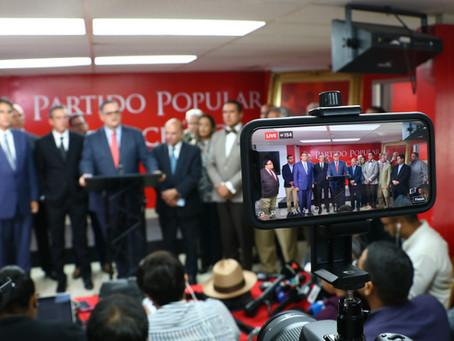 Senador Aníbal José Torres emplaza a Wanda Vázquez a no prestarse para componendas políticas del PNP