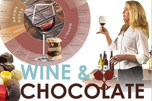 VOUCHER FOR TWO ADULTS WINE AND CHOCOLATE