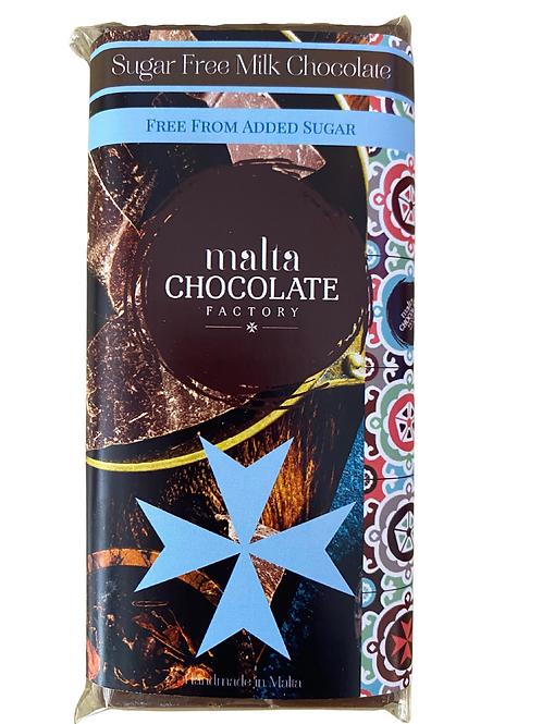 100g Milk Chocolate Bar SUGAR LESS