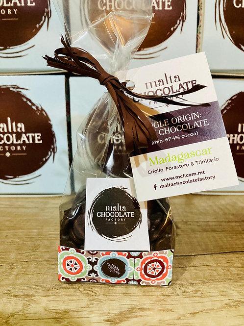 Single Origin Dark Chocolate from São Tomé (min 70% cocoa)