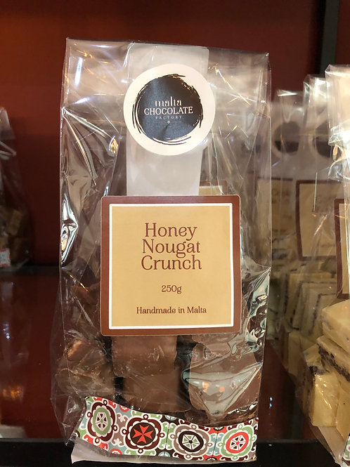250g Honey Nougat Crunch
