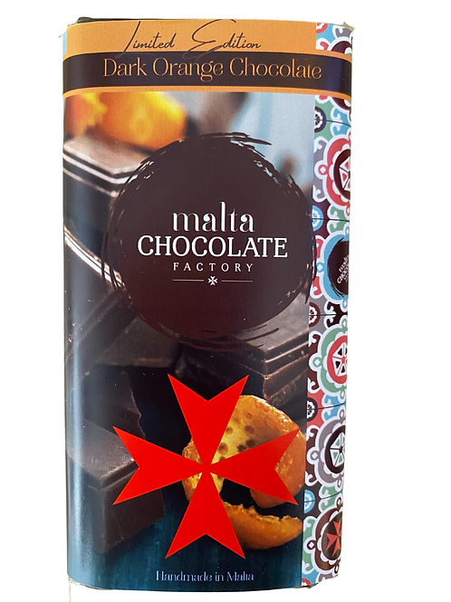 100g Dark Orange Chocolate Bar *LIMITED EDITION*