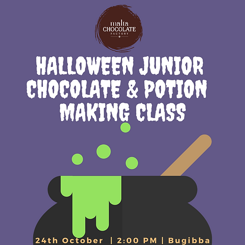 Halloween Junior Chocolate and Potion Making Class